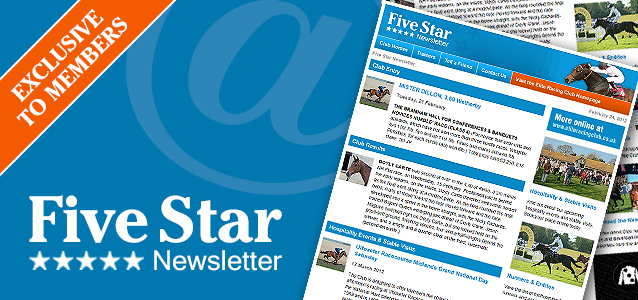 Five Star Newsletter - Exclusive to Club Members