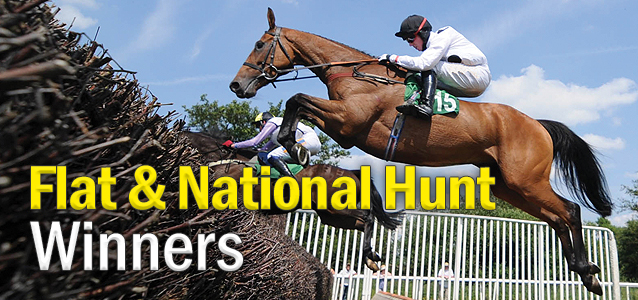 Flat and National Hunt Winners