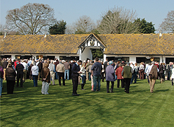 Member's at Nicky Henderson's Seven Barrows Stables
